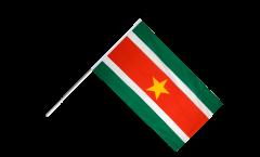 Drapeau Suriname sur hampe
