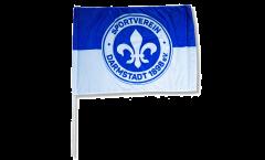 Drapeau SV Darmstadt 98 Logo sur hampe