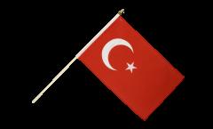 Drapeau Turquie sur hampe
