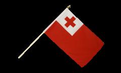 Drapeau Tonga sur hampe