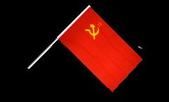 Drapeau URSS sur hampe
