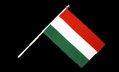 Drapeau Hongrie sur hampe