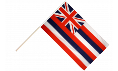 Drapeau USA US Hawaii sur hampe