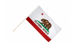 Drapeau USA US California sur hampe