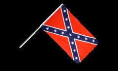Drapeau confédéré USA Sudiste sur hampe
