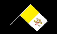 Drapeau Vatican sur hampe