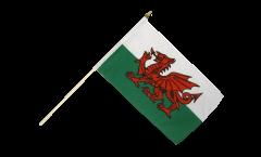 Drapeau Pays de Galles sur hampe