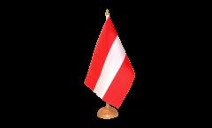 Drapeau de table Autriche