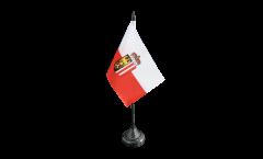 Drapeau de table Autriche Haute-Autriche