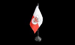 Drapeau de table Autriche Tyrol