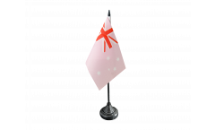 Drapeau de table Australie Rose