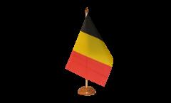 Drapeau de table Belgique