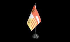 Drapeau de table Belgique Province de Liège