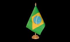 Drapeau de table Brésil