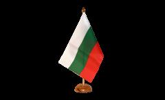 Drapeau de table Bulgarie