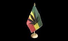 Drapeau de table Cannabis Reggae