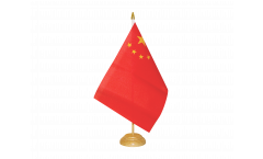 Drapeau de table Chine