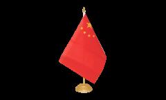 Drapeau de table Chine