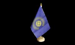Drapeau de table Commonwealth nouveau