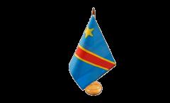 Drapeau de table République démocratique du Congo