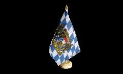 Drapeau de table Allemagne Bavière Freistaat Bayern