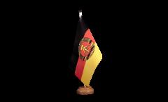 Drapeau de table Allemagne RDA