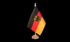 Drapeau de table Allemagne Dienstflagge