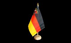 Drapeau de table Allemagne Rhénanie-Palatinat