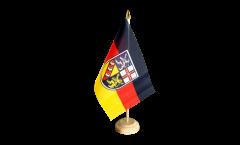 Drapeau de table Allemagne Sarre