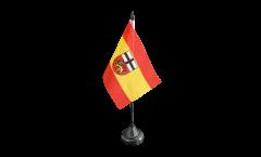 Drapeau de table Allemagne Bonn