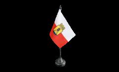 Drapeau de table Allemagne Cuxhaven
