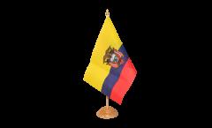 Drapeau de table Équateur