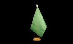 Drapeau de table Unicolore Vert