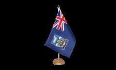 Drapeau de table Îles Malouines