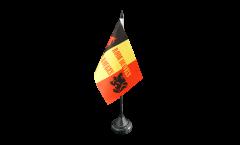 Drapeau de table supporteur Belgique Diables Rouges