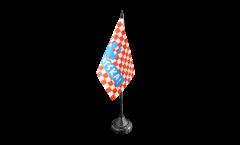 Drapeau de table supporteur Croatie HRVATSKA!
