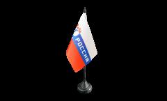 Drapeau de table supporteur Russie Rossiya