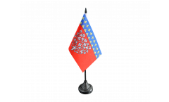 Drapeau de table France Amiens, mini drapeau - 10 x 15 cm