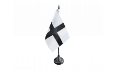 Drapeau de table France Bretagne Kroaz Du
