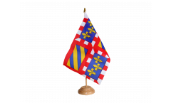 Drapeau de table France Bourgogne