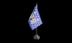 Drapeau de table France Carcassonne