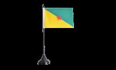 Drapeau de table France Guyane