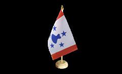Drapeau de table France Polynésie francaise Îles Australes