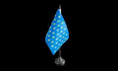Drapeau de table France Fleur-de-Lys, bleu, mini drapeau - 10 x 15 cm