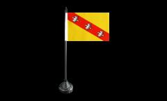 Drapeau de table France Lorraine, petit drapeau - 15 x 22 cm