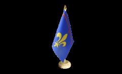 Drapeau de table France Provence