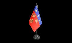 Drapeau de table France Rodez, mini drapeau - 10 x 15 cm