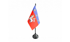 Drapeau de table France Rouen