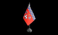 Drapeau de table France Toulouse