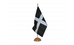 Drapeau de table Royaume-Uni St. Piran Cornwall